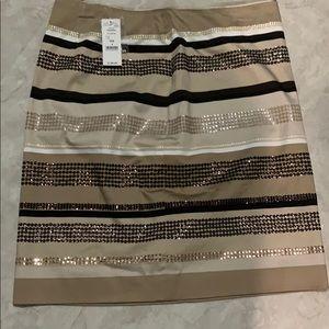 White House Black Market BNWT lined skirt